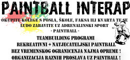 InterAp Paintball - teambuilding, rekreativni paintball, speedball, najam terena, proslave ro?endana